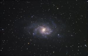 Triangulum galaxy image