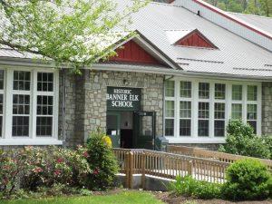 The exterior of the banner elk school