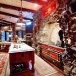 Elaborately decorated kitchen