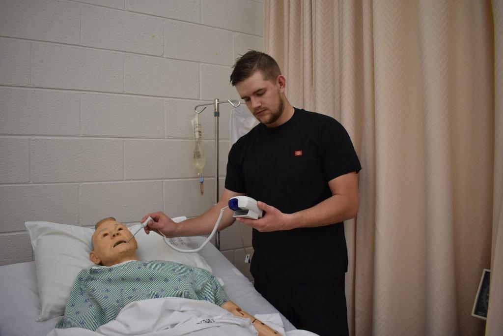 Jake Silver Nursing Assistant 1 student